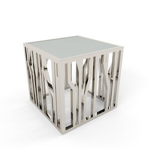 3D aico reflection end table