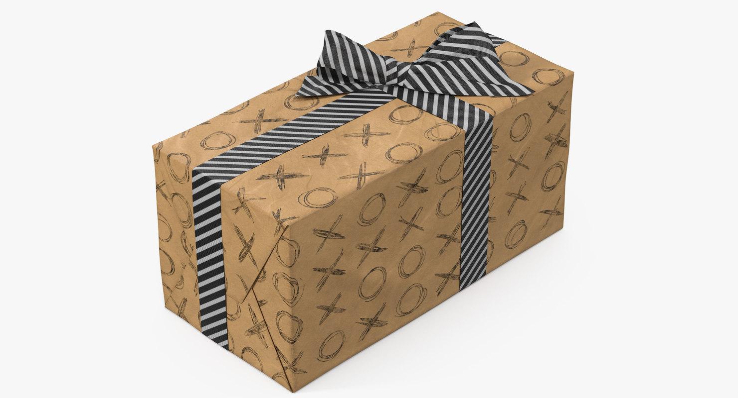 3D gift box paper 7