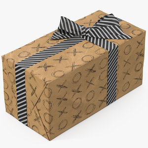 3D gift box paper 7
