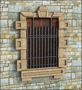 window castle 3D