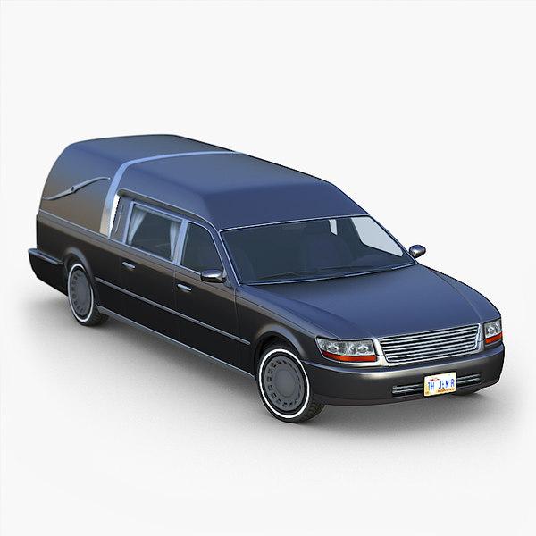 classic hearse model