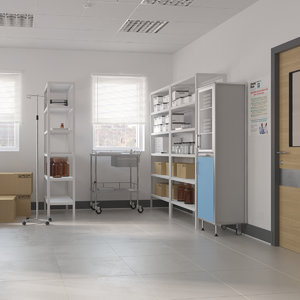 realistic hospital room archive 3D model