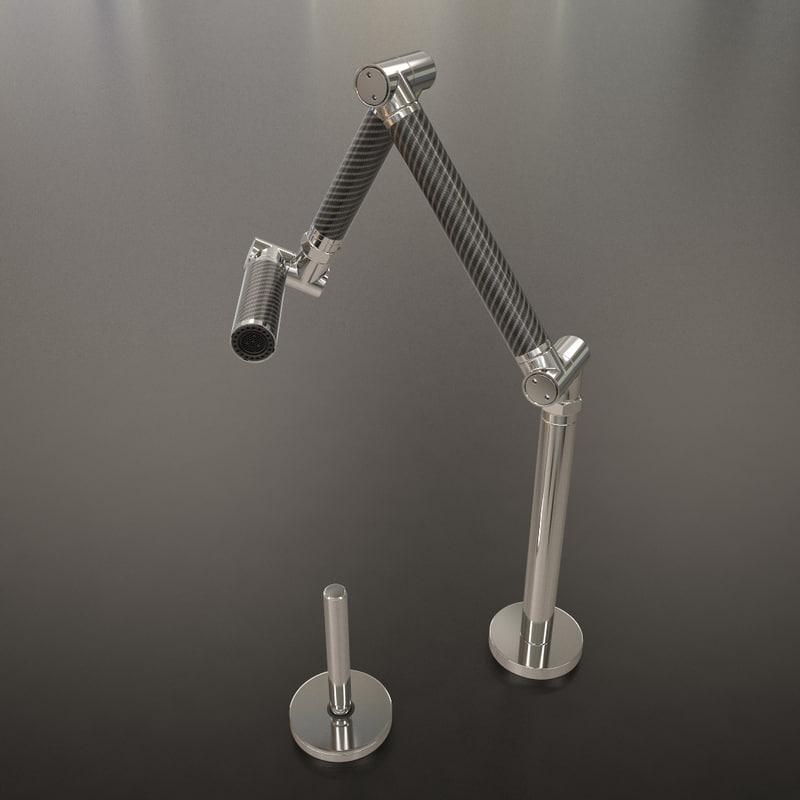 kohler faucet 3D model