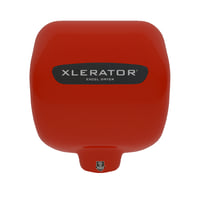 xlerator hand dryer- red 3D