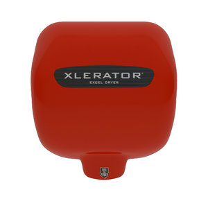 xlerator hand dryer- red 3D