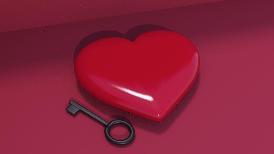 corazn de 3D model