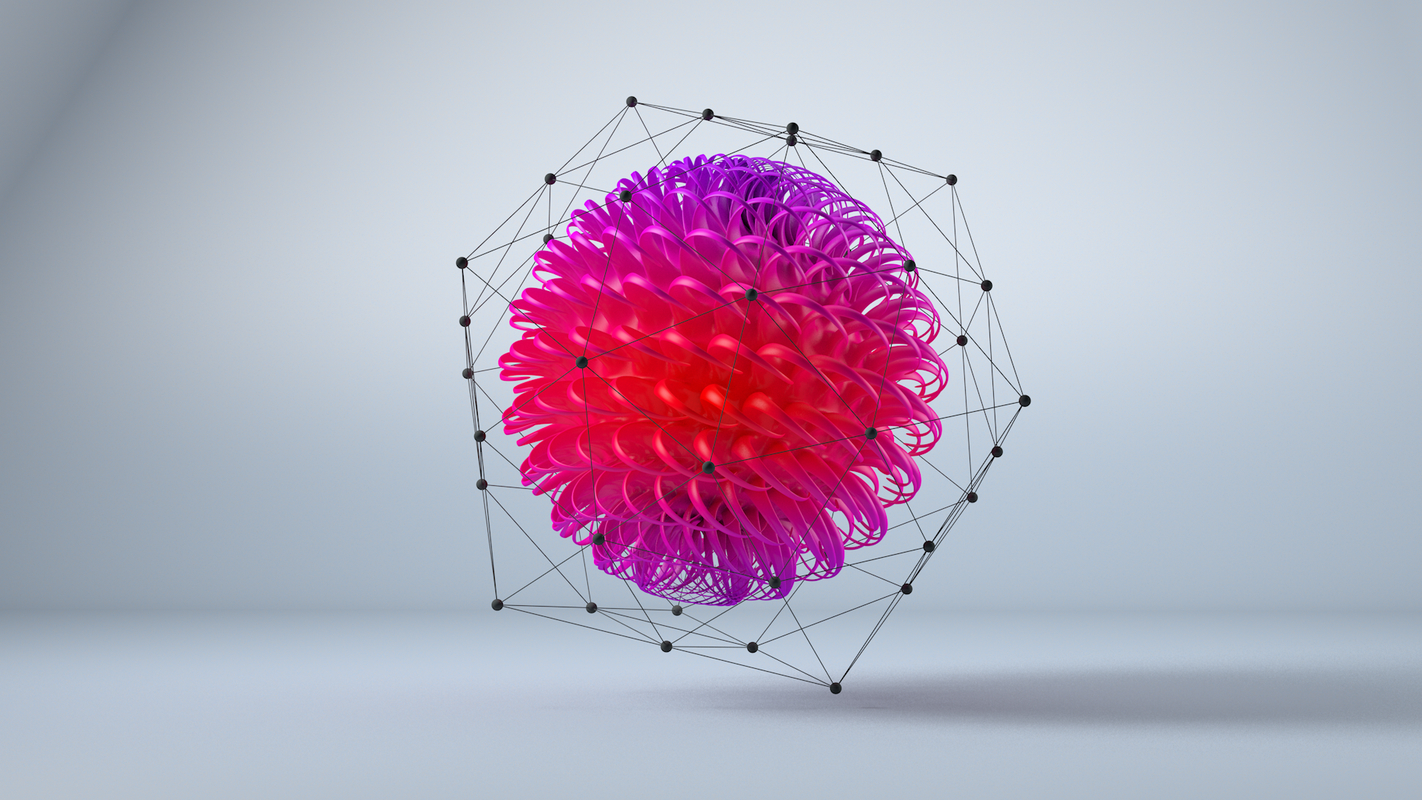 abstract 3D model
