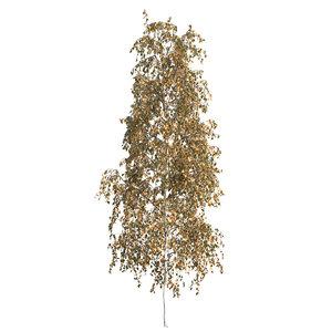 3D silver birch tree