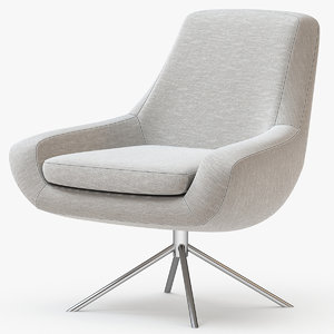 3D model noomi swivel chair