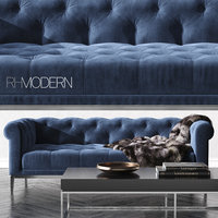RH_ITALIA CHESTERFIELD FABRIC SOFA