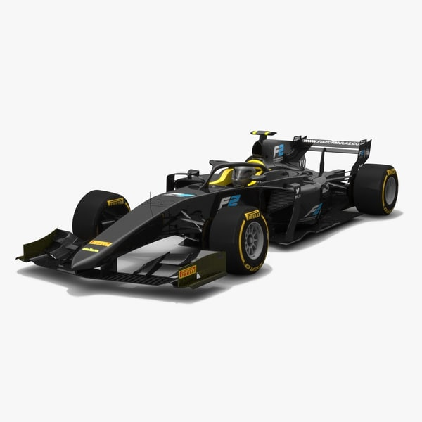 3D formula 2 generic car model