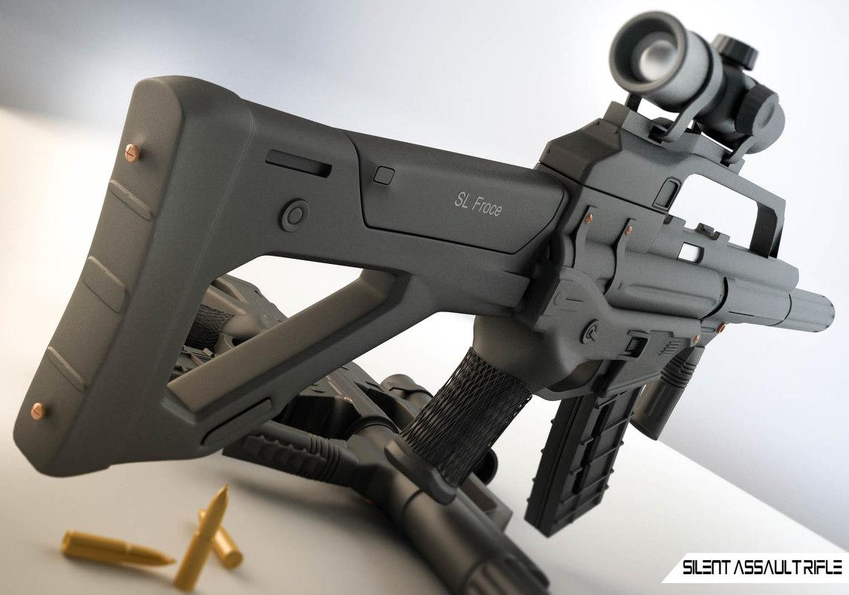 3D sg2000 gun model