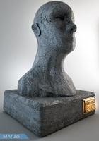 3D model statues ready