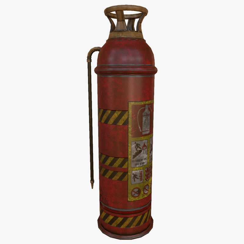 extinguisher ready games 3D