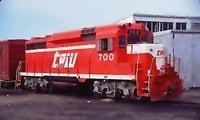 train ready 3D model