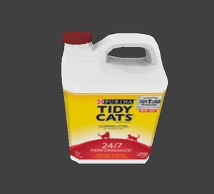 tidy cat litter 3D model