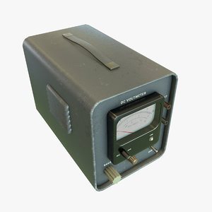 voltmeter 2 3D