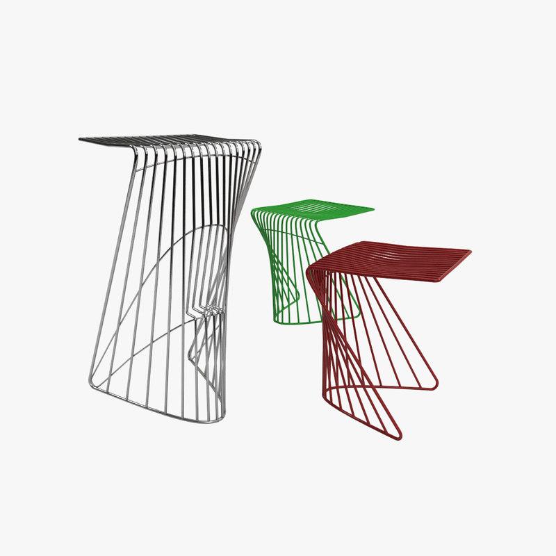 steendyk dove chair 3D model