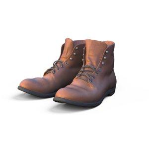 3D farm boots model