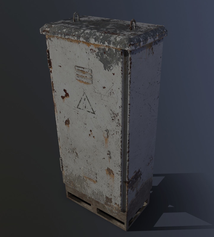 old electric box 3D