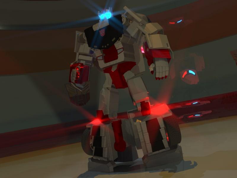 3D autobot streetwise model