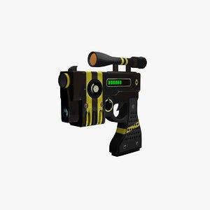 3D pbr 1 gun