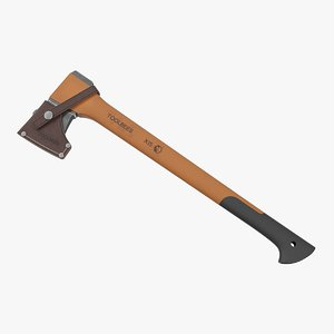 chopping axe sheath 3D model