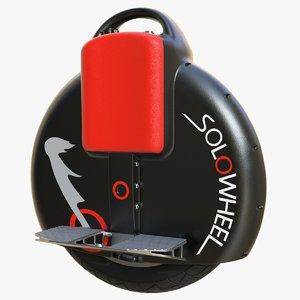 3D solowheel 02 model