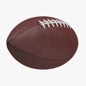 football american ball 3D