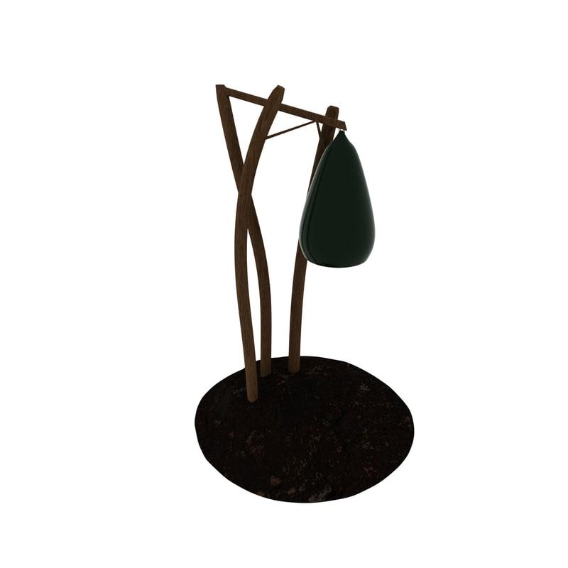 3D lamp stone