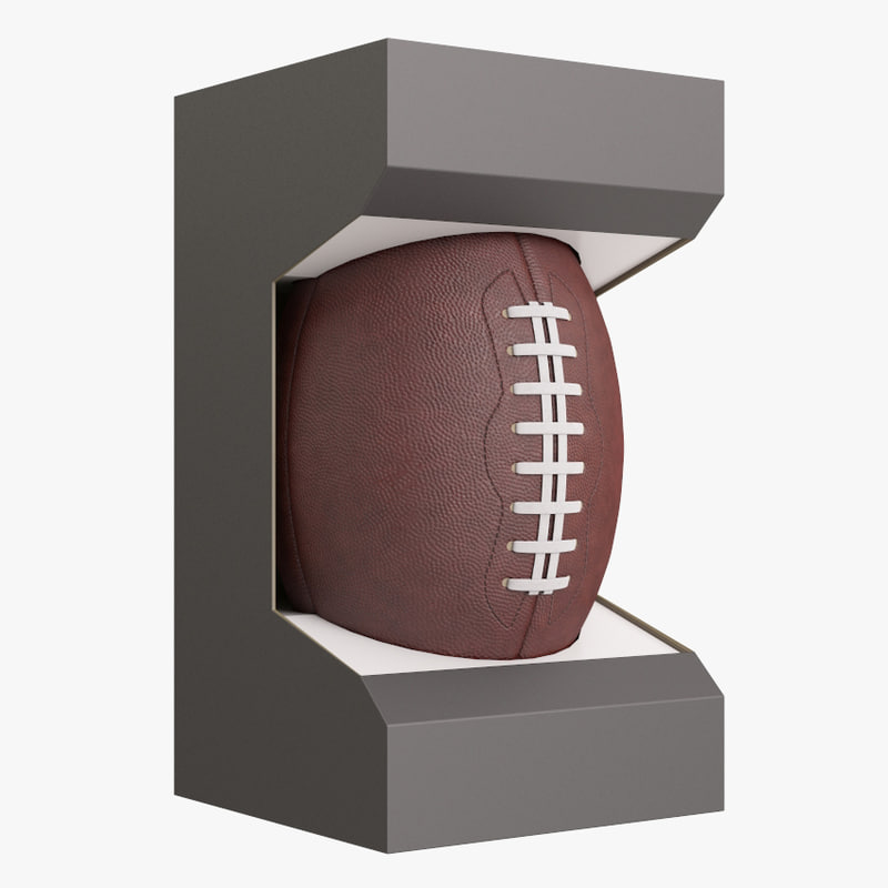 football ball box 3D model