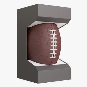 football ball box 3D model