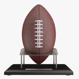 football ball stand 3D model