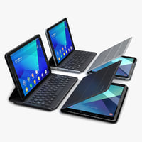 samsung galaxy tab s3 3D model