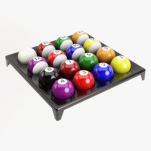 3D ball plastic holder