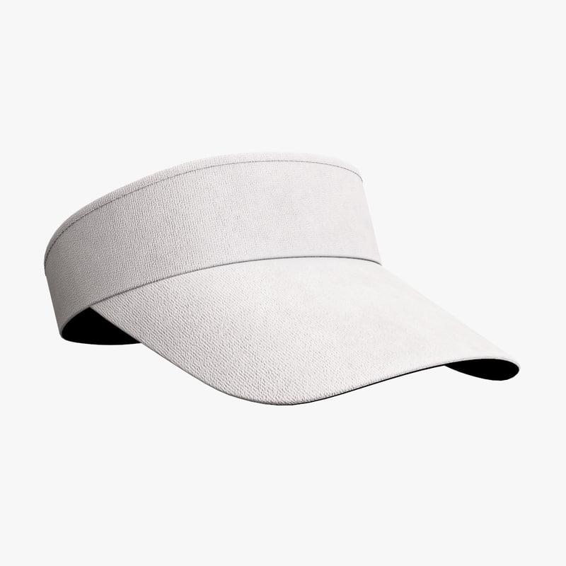 tennis hat model