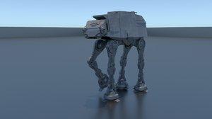 3D at-at star wars