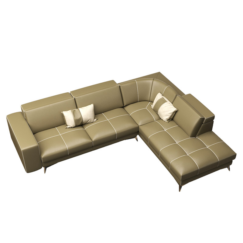 realistic gamma charles sofa 3D