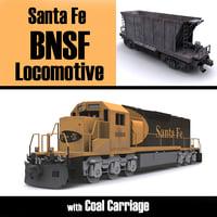 Santa Fe BNSF EMD