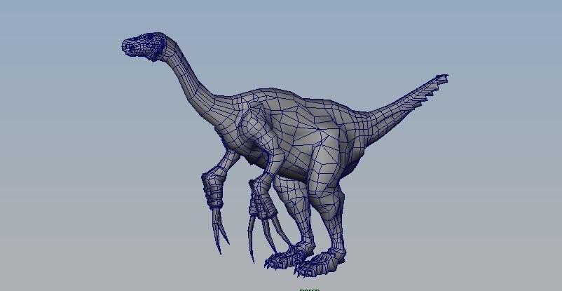 3D dinosaur anchiceratops model