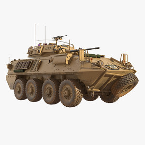 light armored vehicle lav-25 3D model