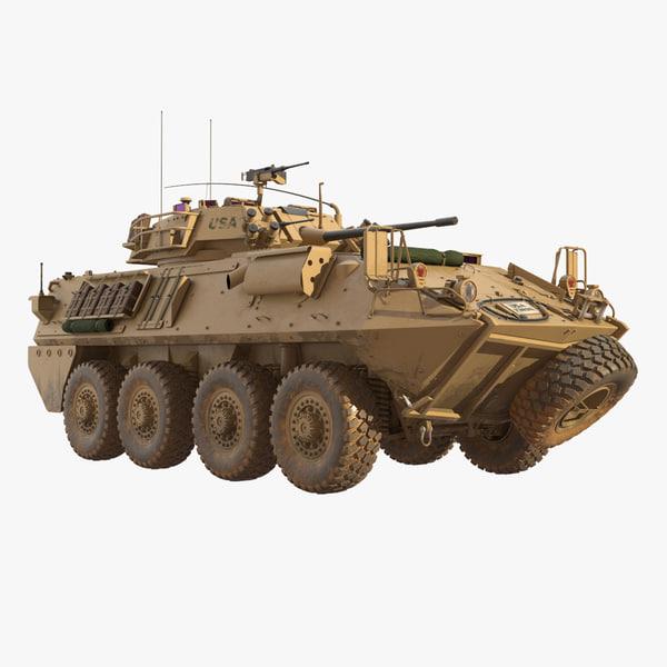 light armored vehicle lav-25 3D model