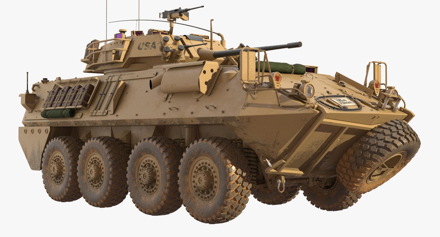 Light Armored Vehicle Lav 25 3D Model