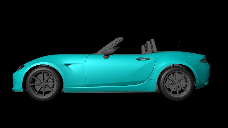 concept sports car 3D