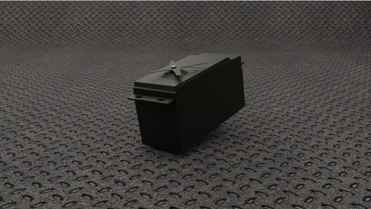 servo motor 3D model