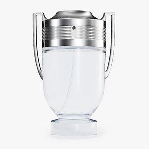 3D paco rabanne invictus perfume