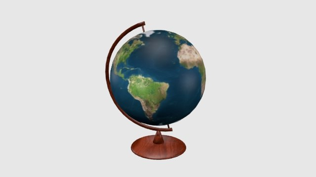 geography globe earth globus model