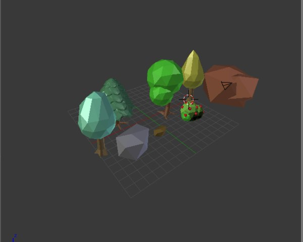 3D model forest