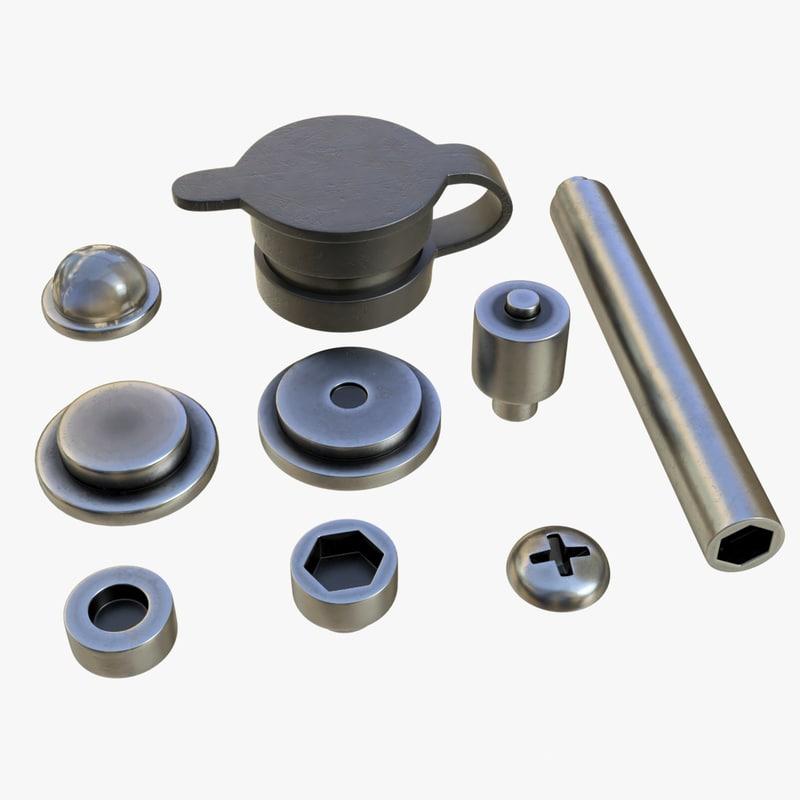 mounts solowheel 3D model