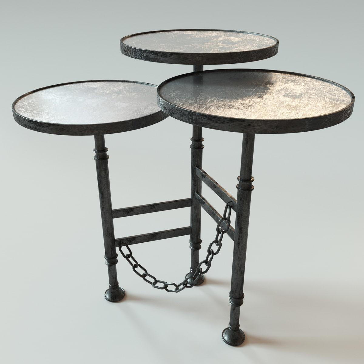 artevaluce coffee table 3D model